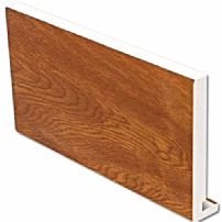 Golden Oak uPVC Replacement Fascia Board 16mm 5mt